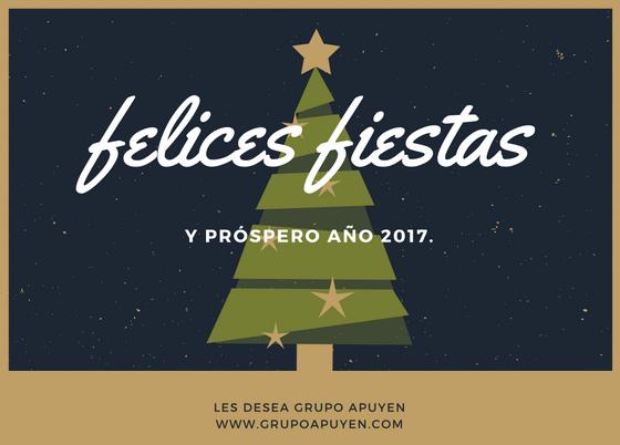 Felices Fiestas y Feliz Año 2017